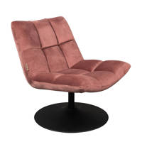 Dutchbone Bar Lounge fauteuil, Oudroze