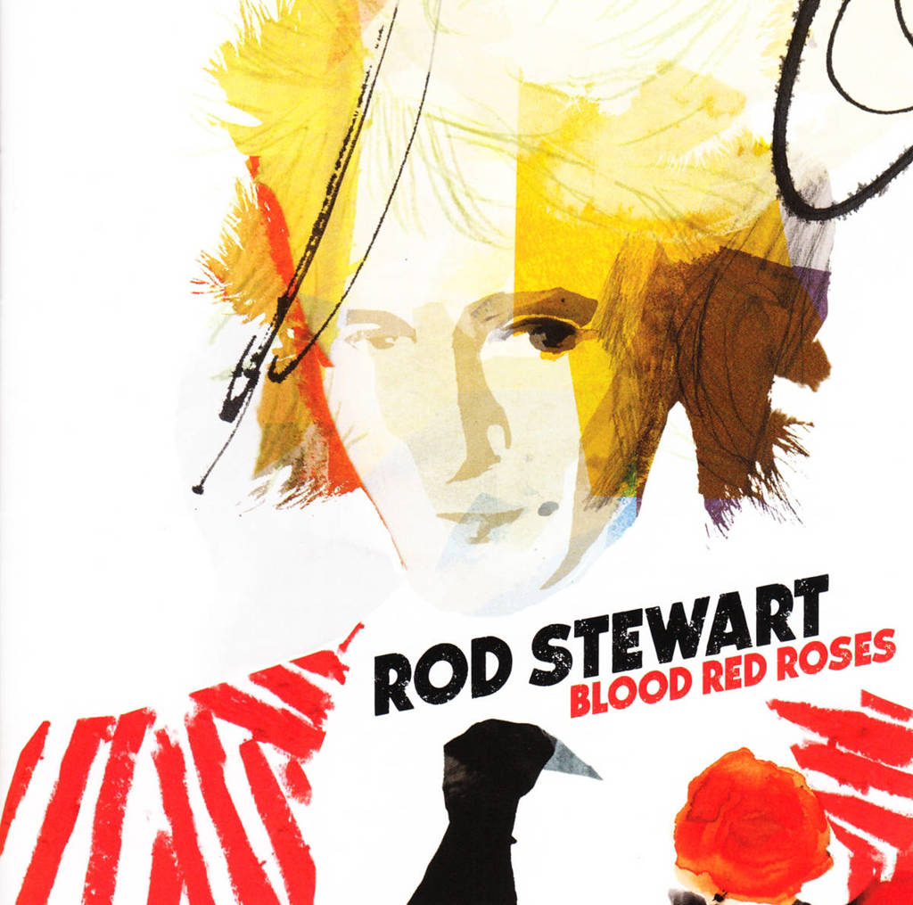 Rod Stewart - Blood Red Roses (CD)