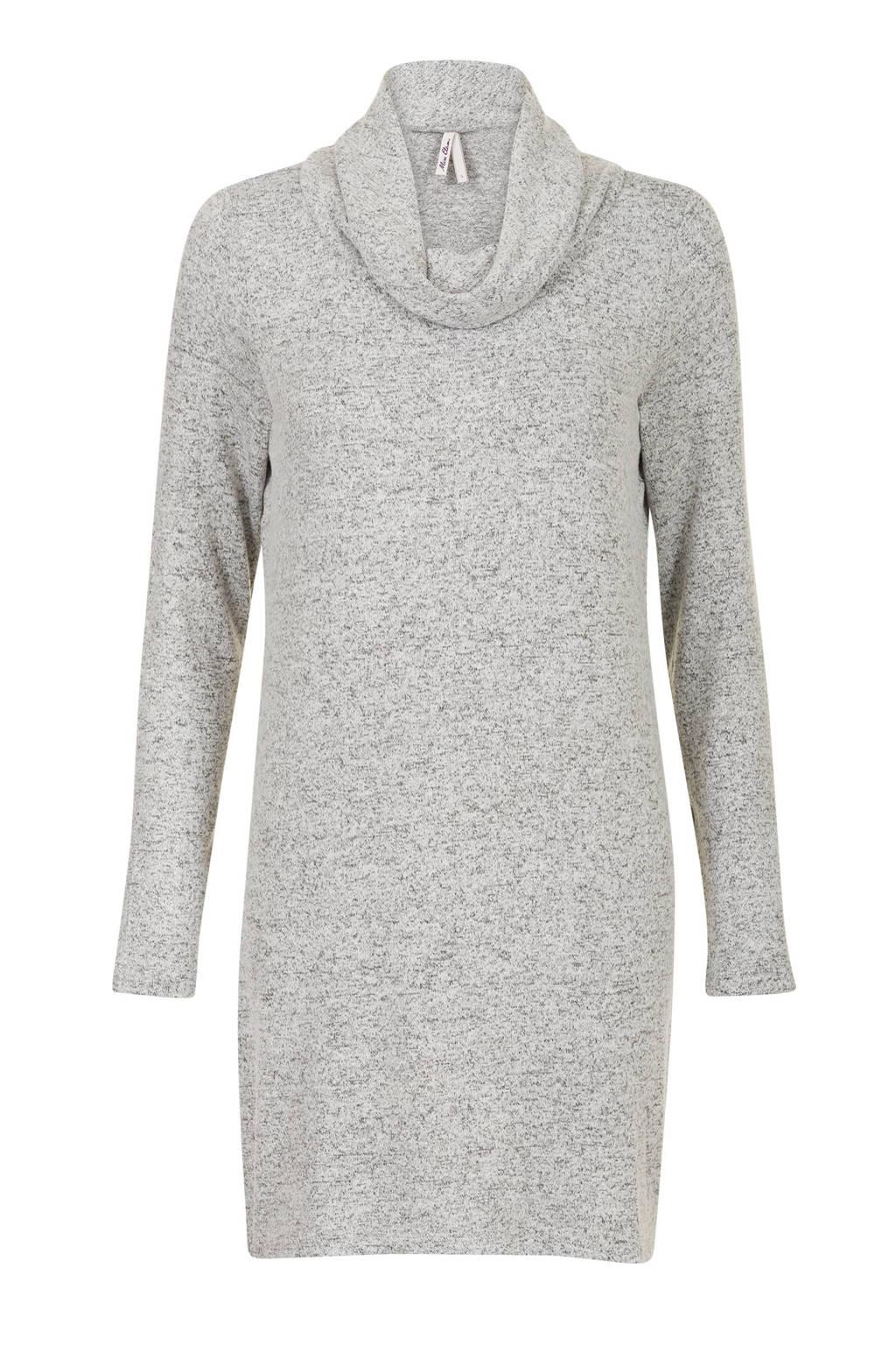Miss Etam Regulier jurk grijs, Grijs