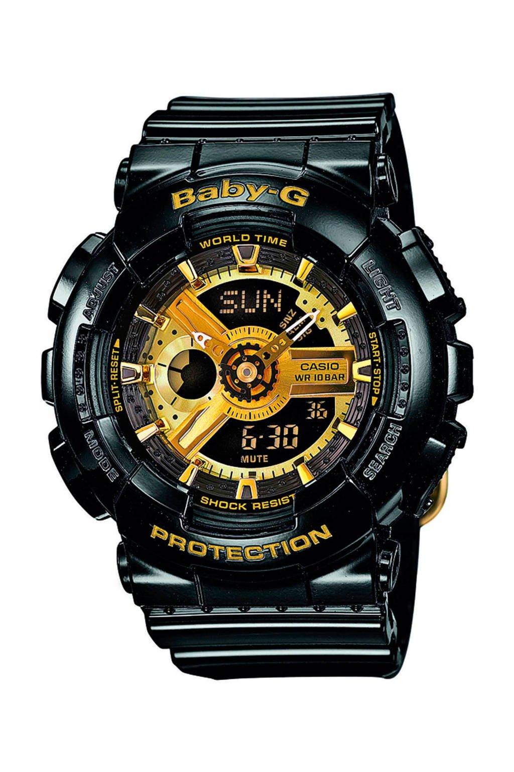 Baby-G horloge - BA-110-1AER, Zwart