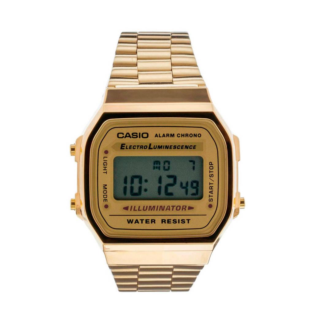 Casio horloge A168WG-9EF, Goudkleurig