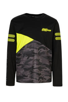 Here & There   sport T-shirt zwart