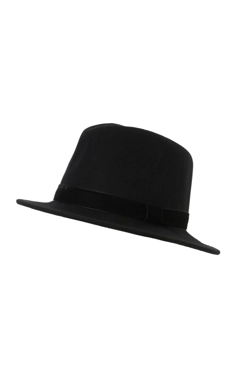 ONLY hoed, Zwart