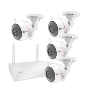 EZWIRELESS KIT (4x Husky Camera + Network Video Recorder)