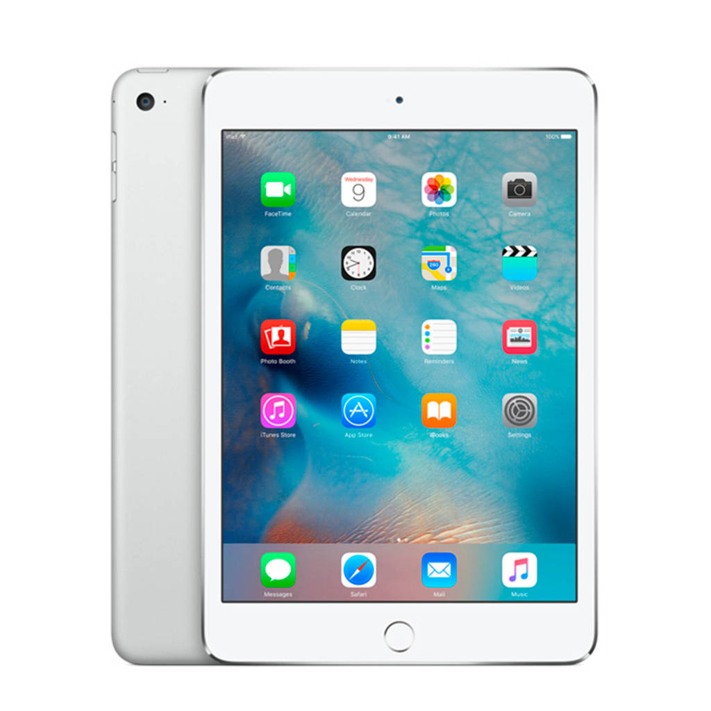 Apple iPad mini 4 128 GB Wifi + 4G MK772NF/A, Zilver