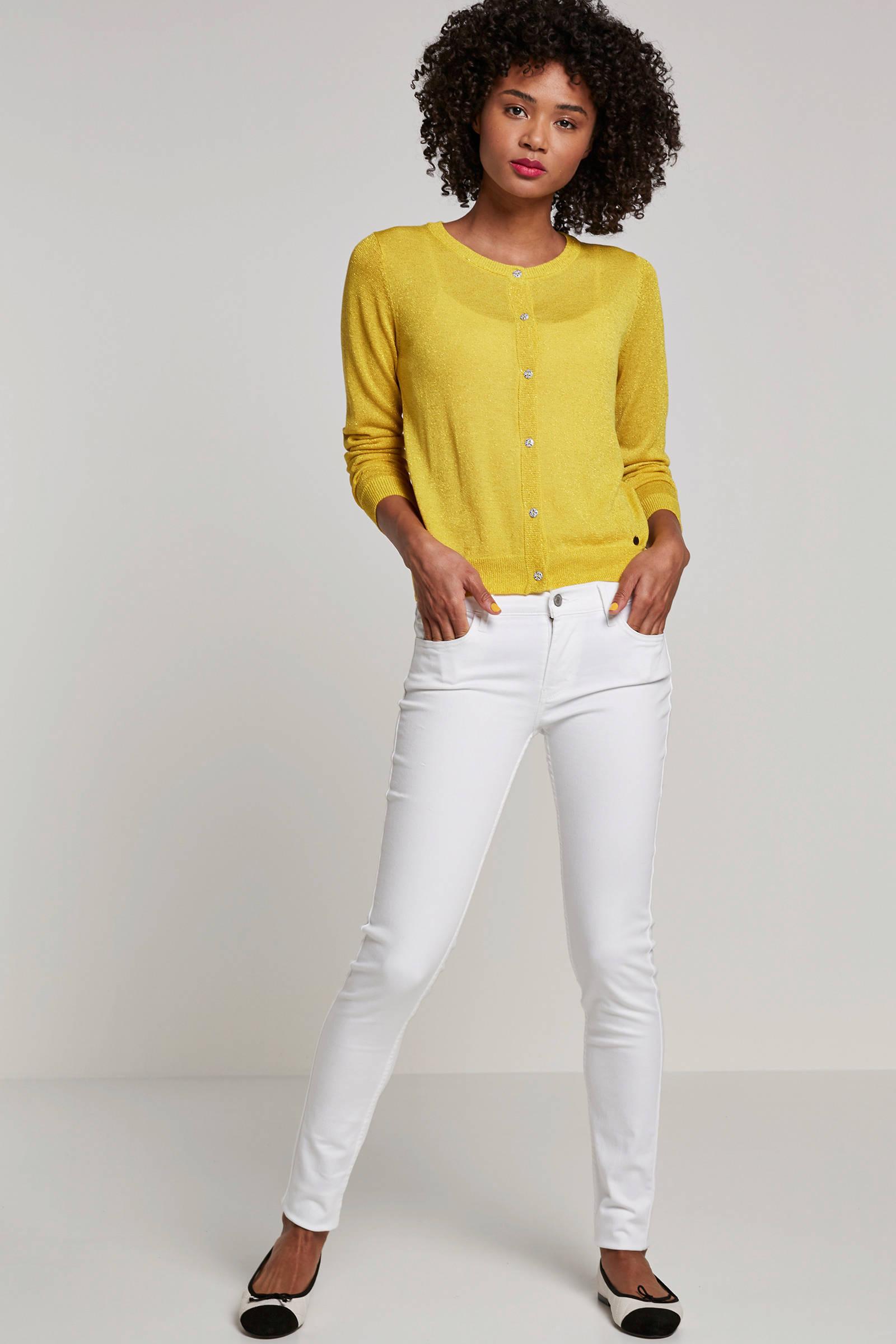 Levi's super skinny jeans wit | wehkamp