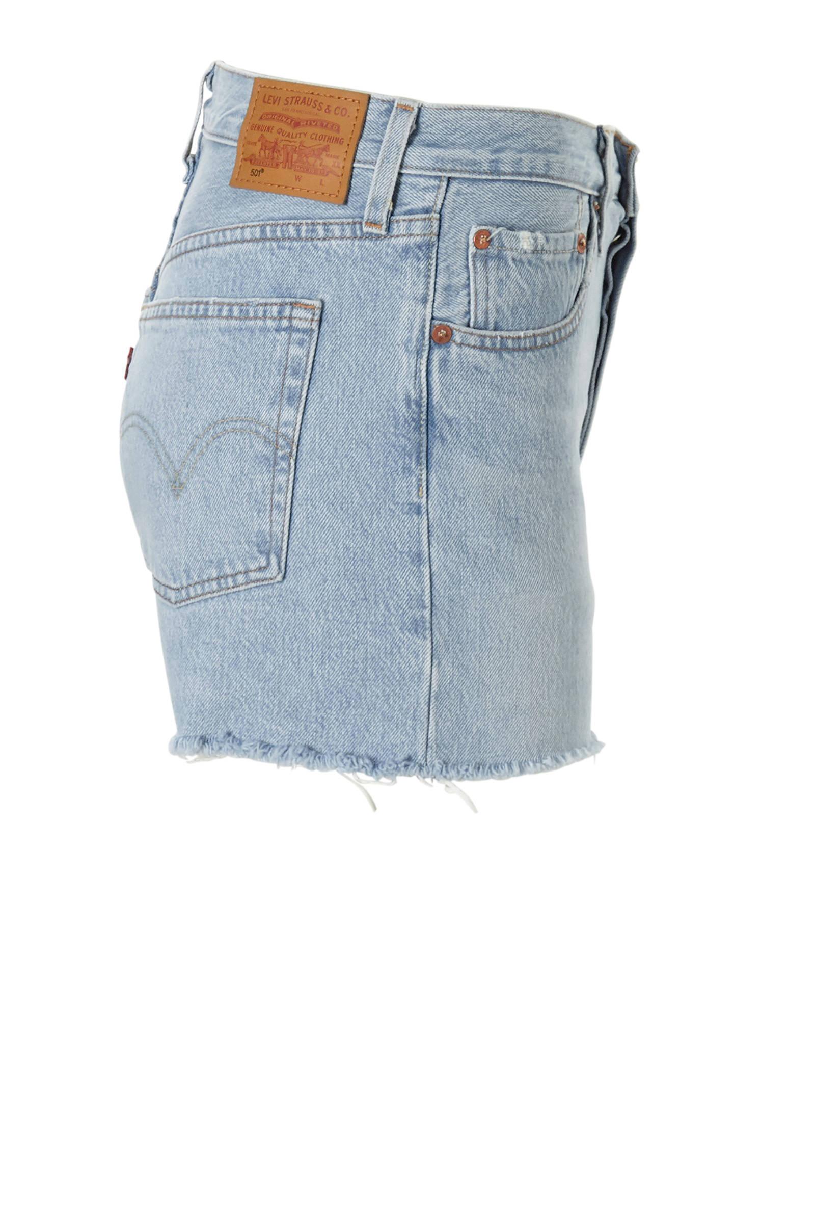 Levi's 501 high waisted jeans shorts | wehkamp