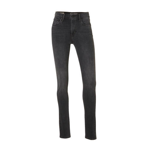 Levi's 721 high waist skinny jeans grijs