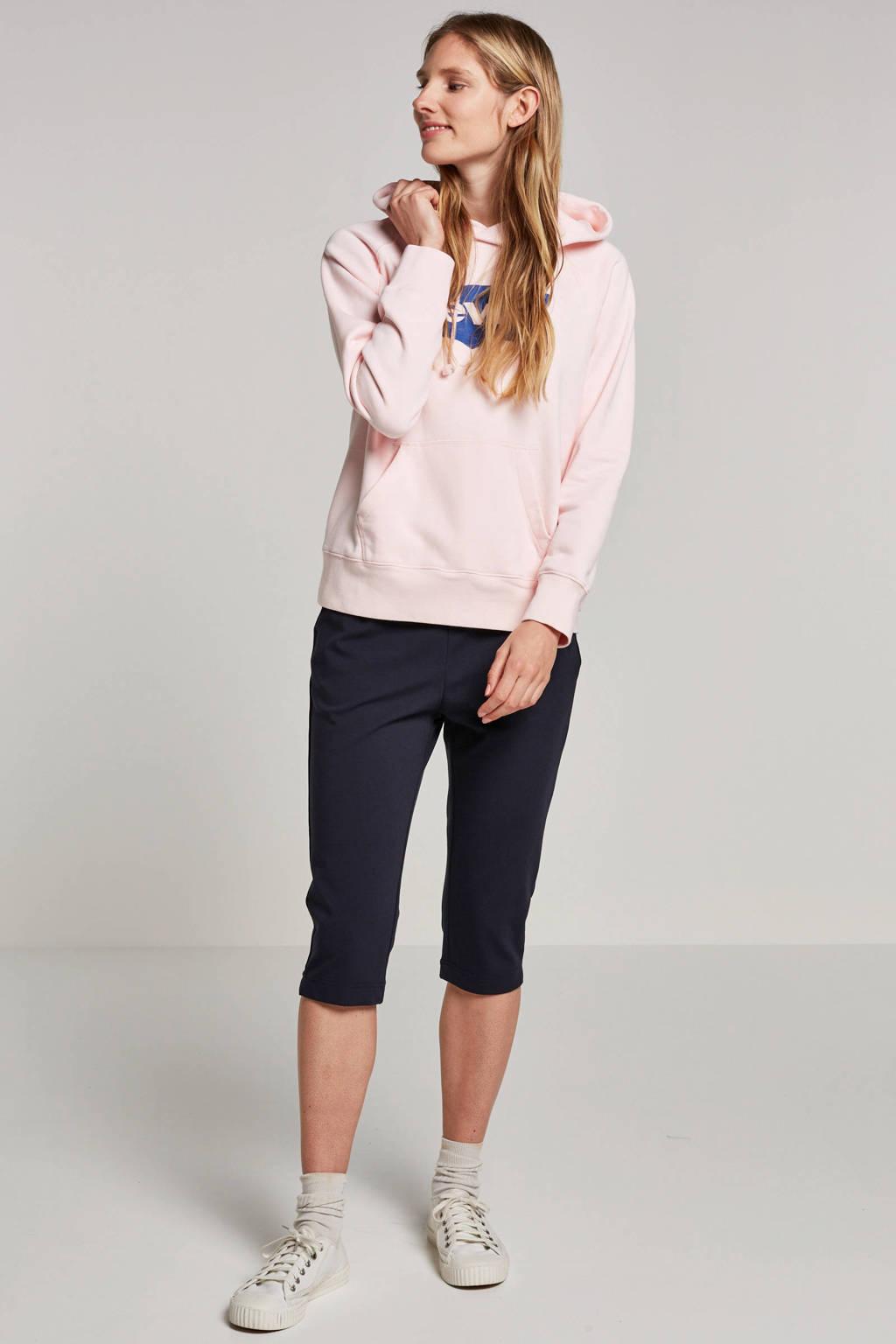 Levi's logo sweater roze, Roze/blauw