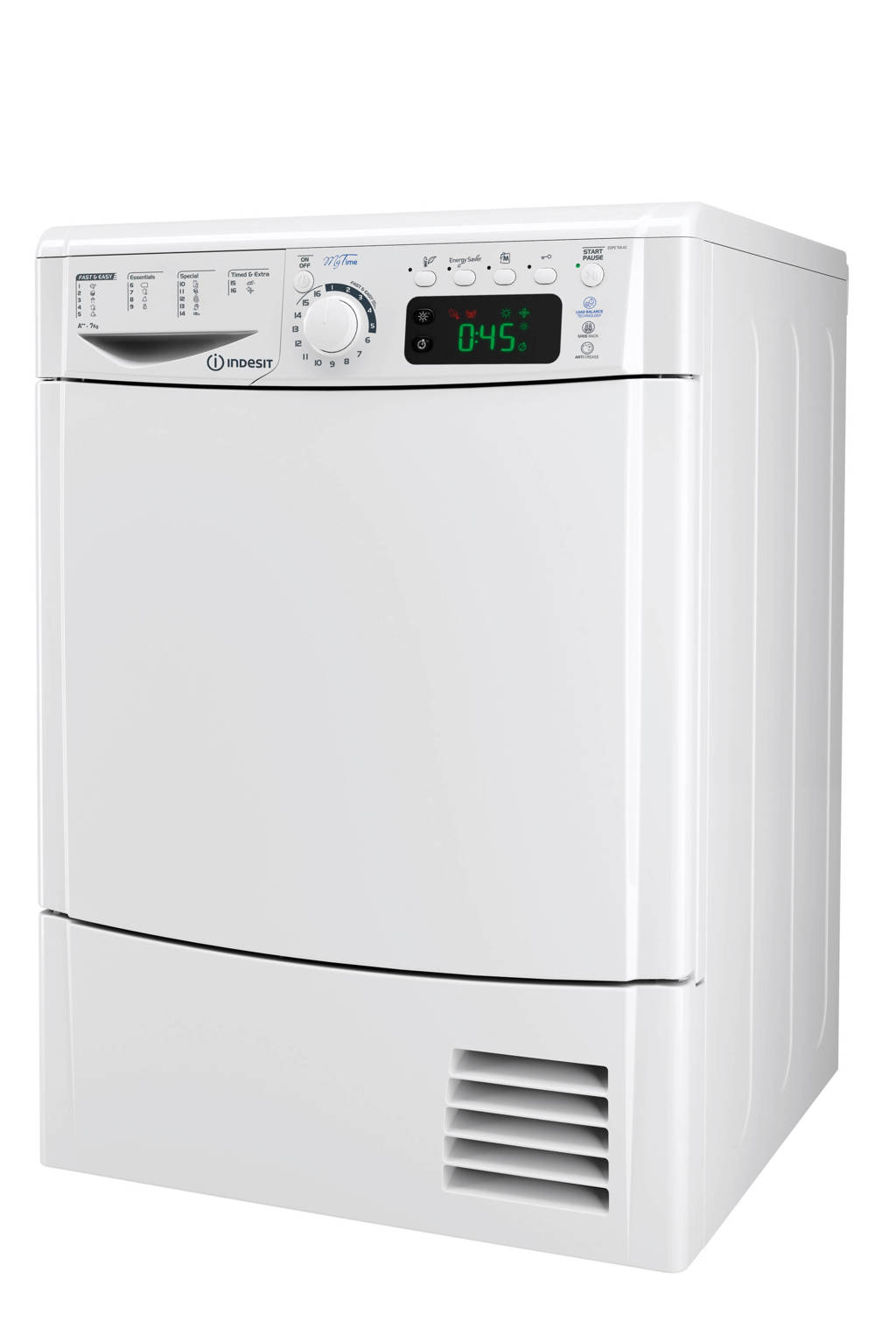Indesit EDPE 745 A2 ECO EU warmtepompdroger