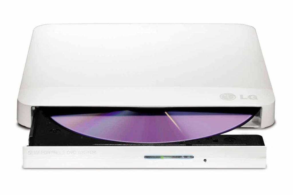 LG GP57EW40 Externe DVD-brander / optische drive, Wit