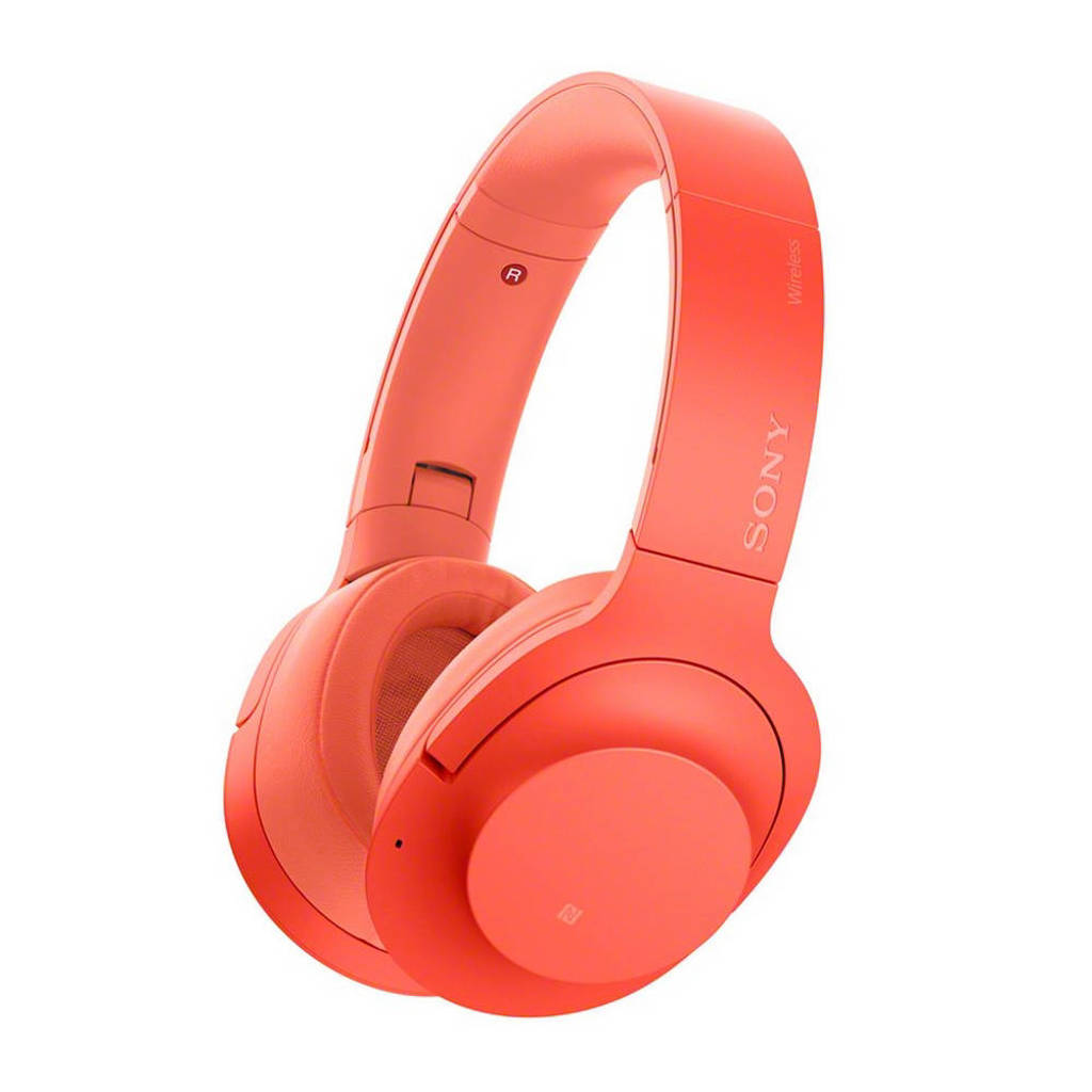 Sony Over-ear bluetooth koptelefoon met Noise Cancelling WH-H900NB rood, Rood