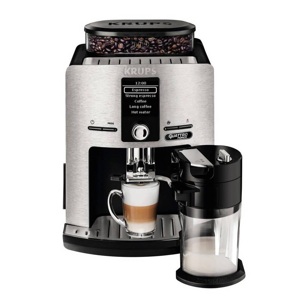 Krups EA82FD koffiemachine, RVS