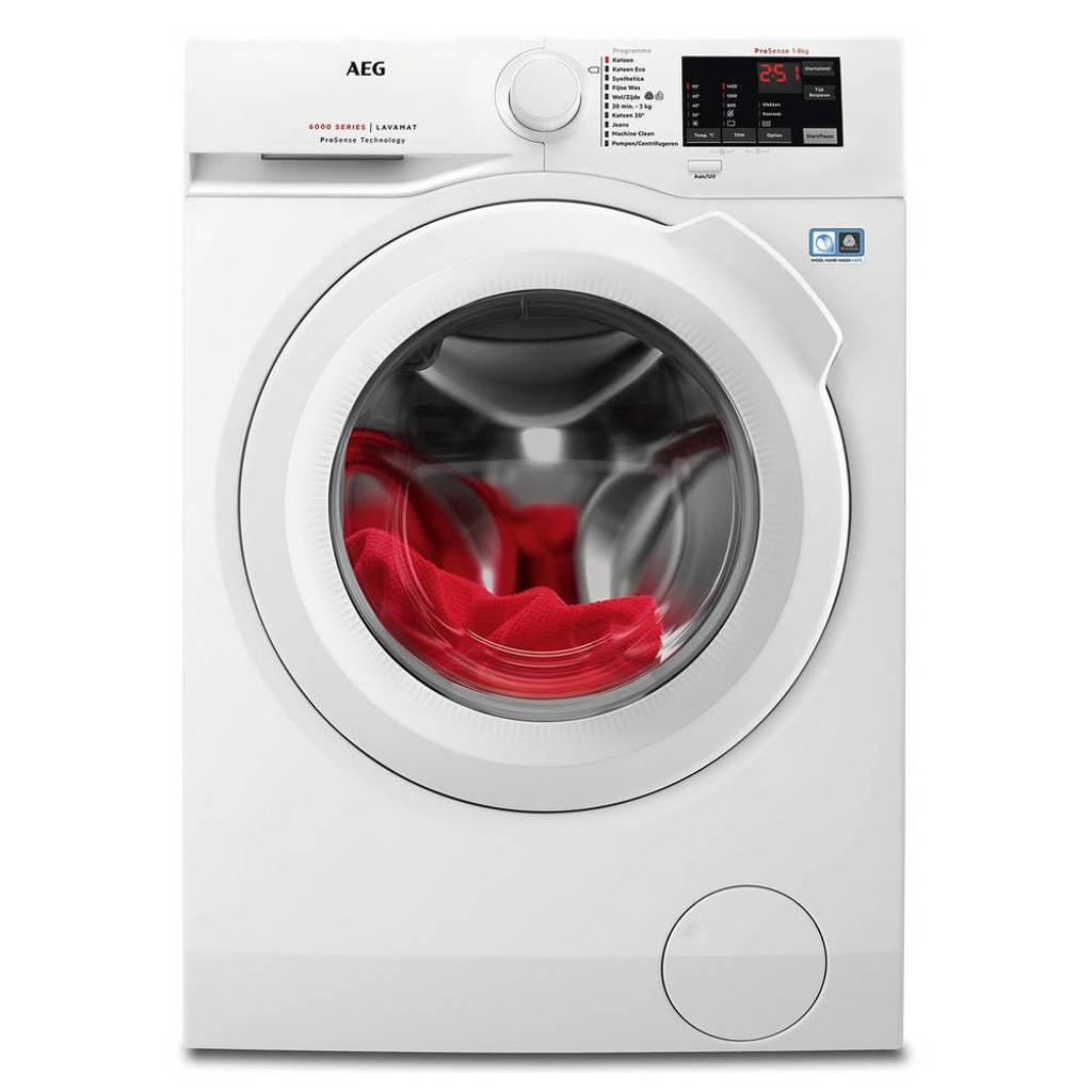AEG L6FB84IW wasmachine