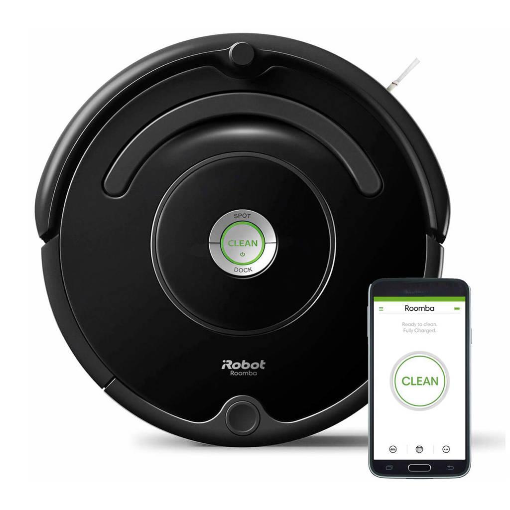 iRobot Roomba 671 robotstofzuiger, Zwart