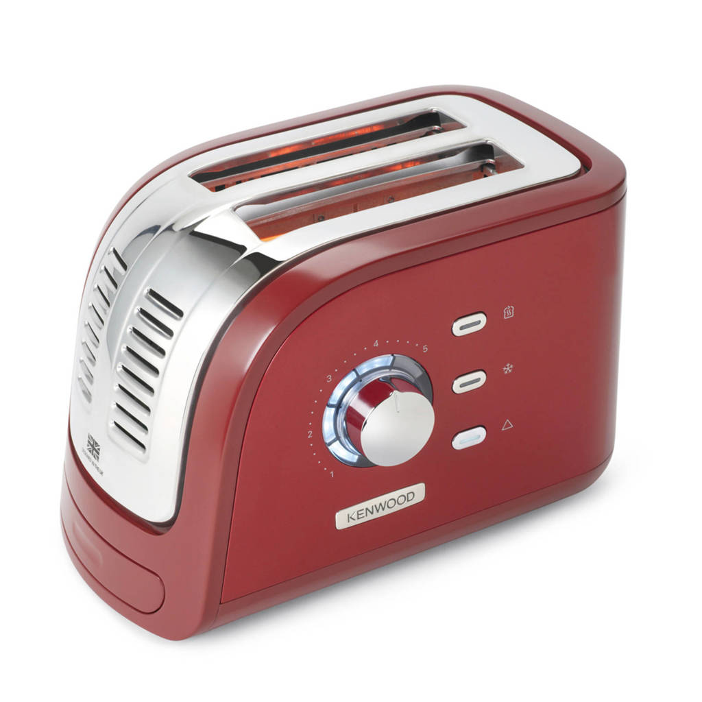 Kenwood TCM300RD Turbo broodrooster, Rood
