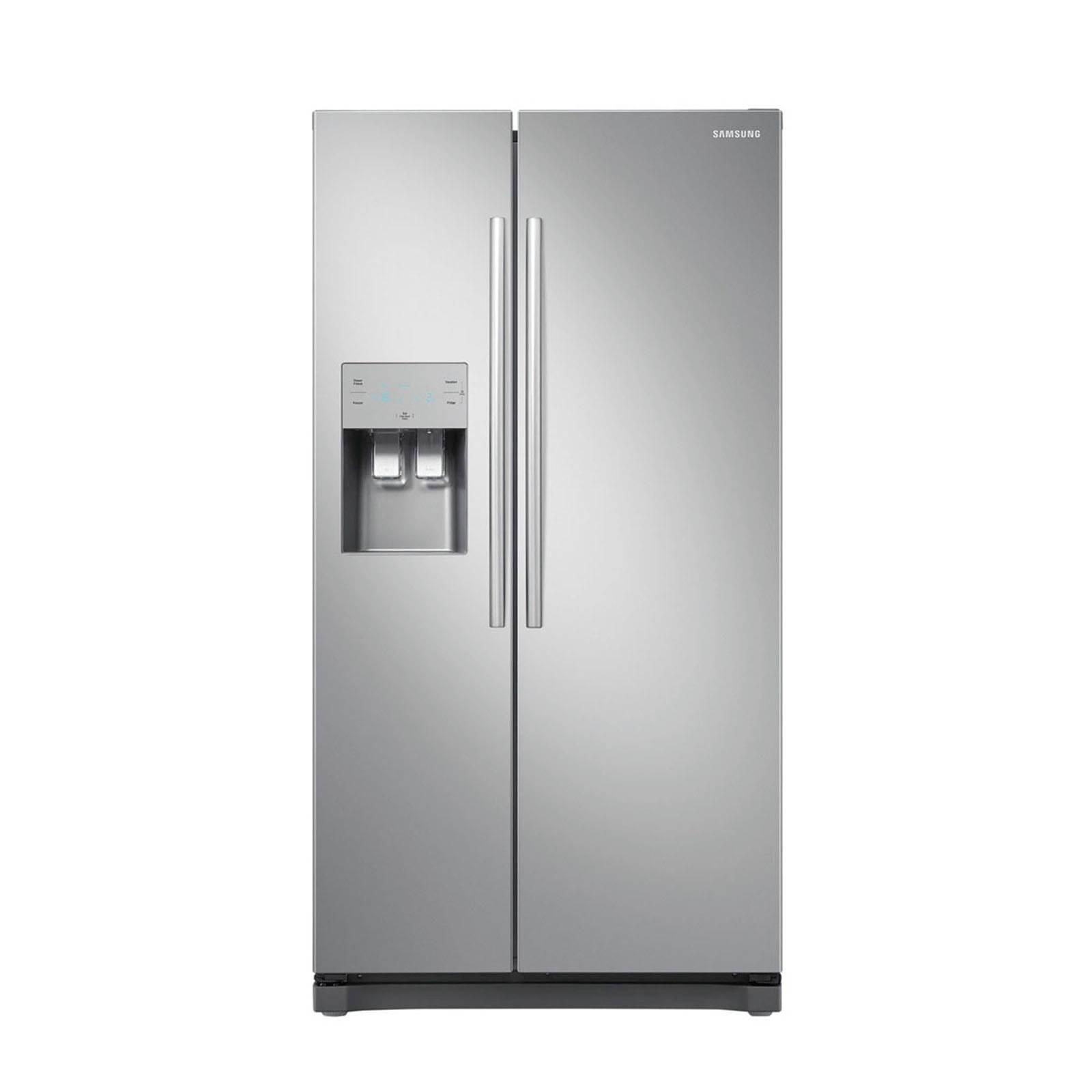 zilveren koelkast aanbieding