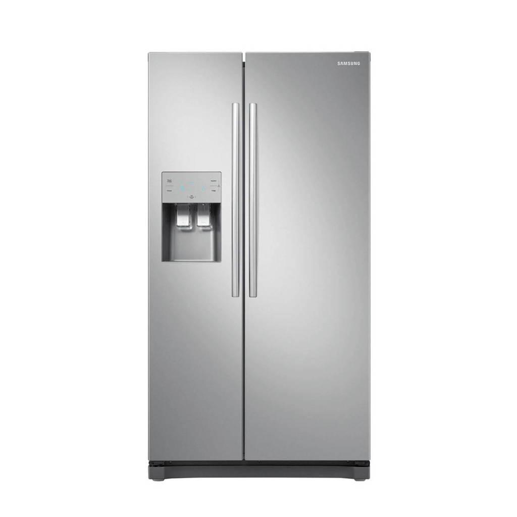 Samsung RS50N3413SA/EF Amerikaanse koelkast, Roestvrij staal