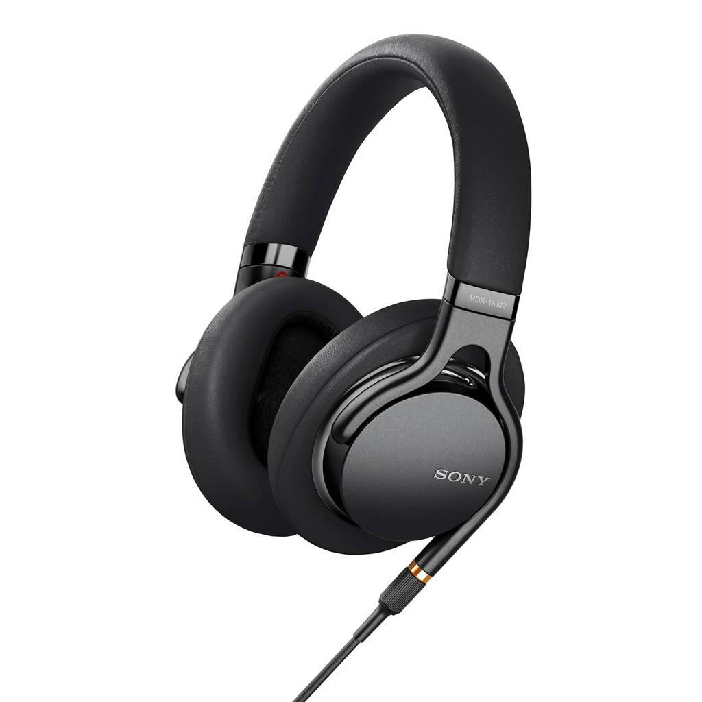 Sony MDR-1AM2B over-ear koptelefoon zwart, Zwart