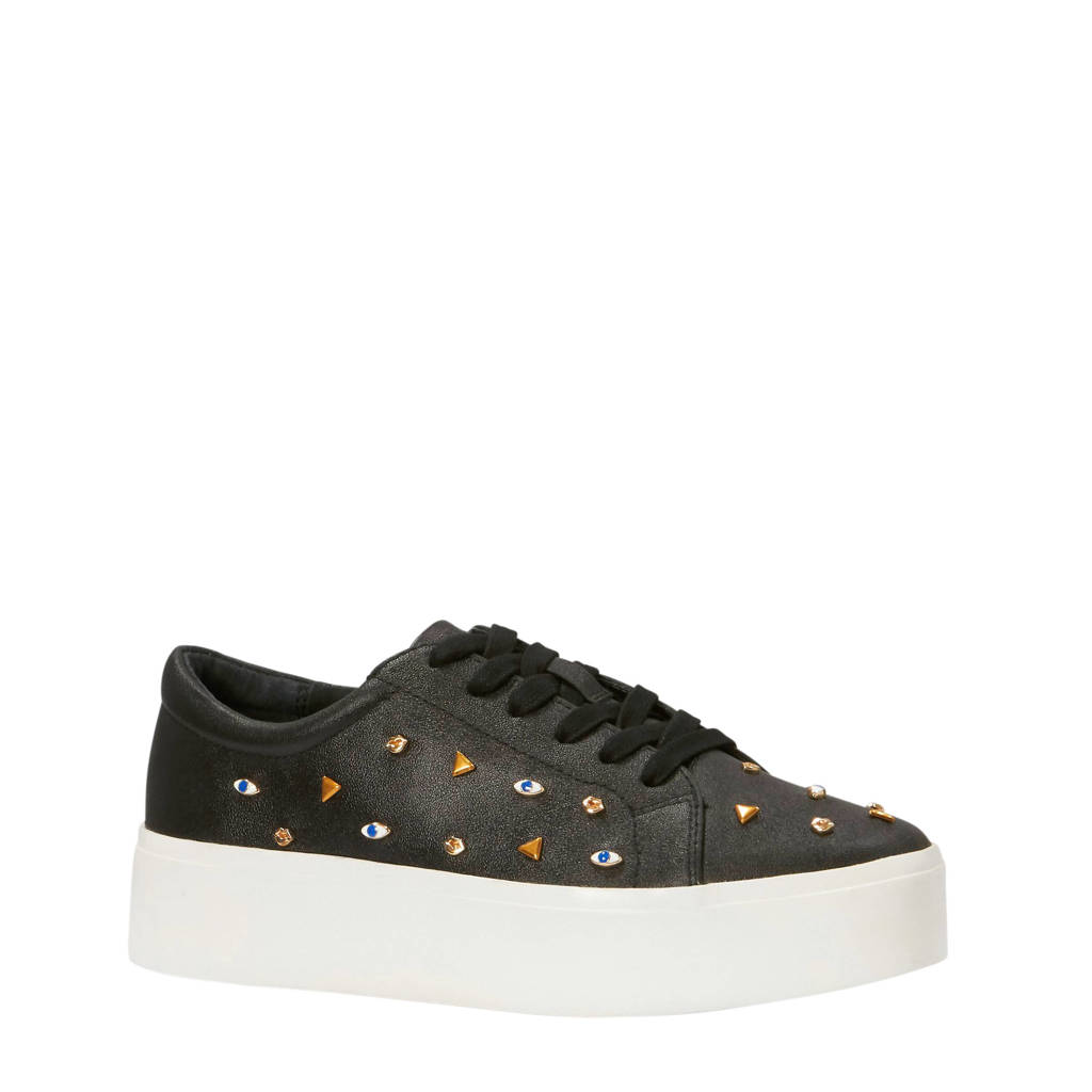 Katy Perry  The Dylan platform sneakers, Zwart/wit