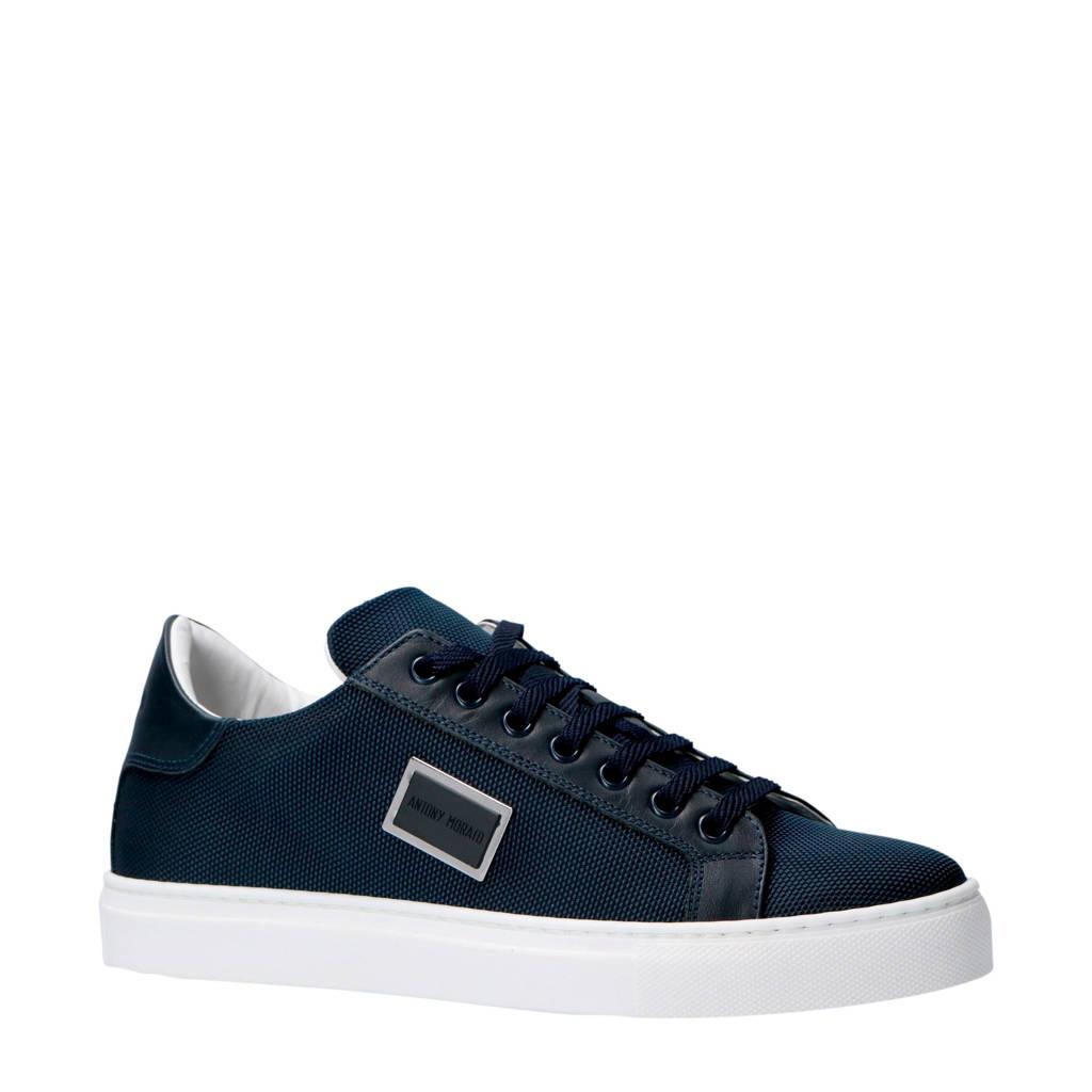 Antony Morato  sneakers donkerblauw, Donkerblauw/wit