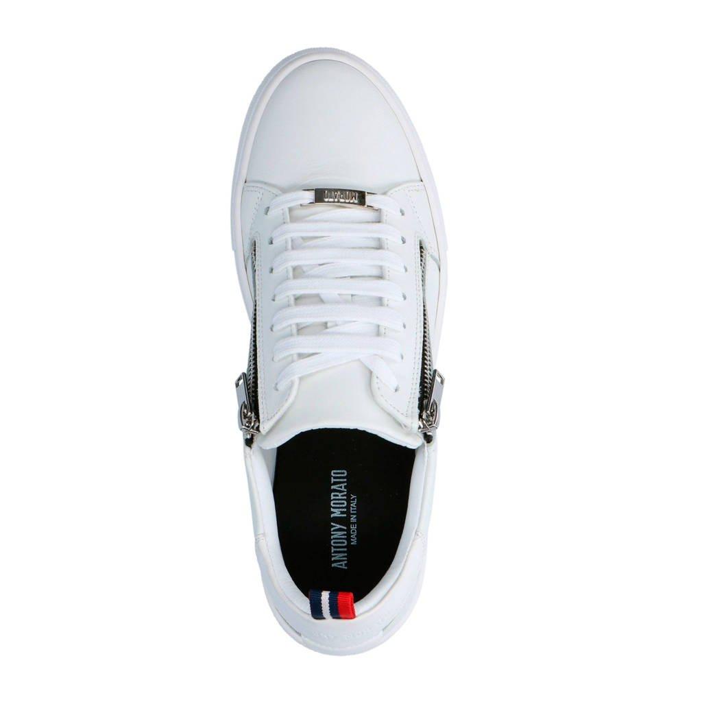 Sneakers Leren Sneakers Antony Antony Leren Morato Morato Wit H8ZOqndxW
