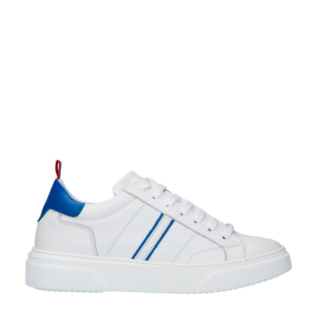 Antony Leren Sneakers Morato Morato Antony Wit B41gB