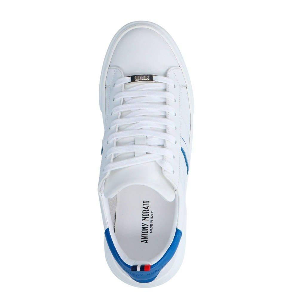 Antony Morato Morato Sneakers Leren Wit Antony F07xqv