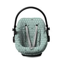 Briljant Baby autostoelhoes 0+ crizz crozz stonegreen interlock, Groen