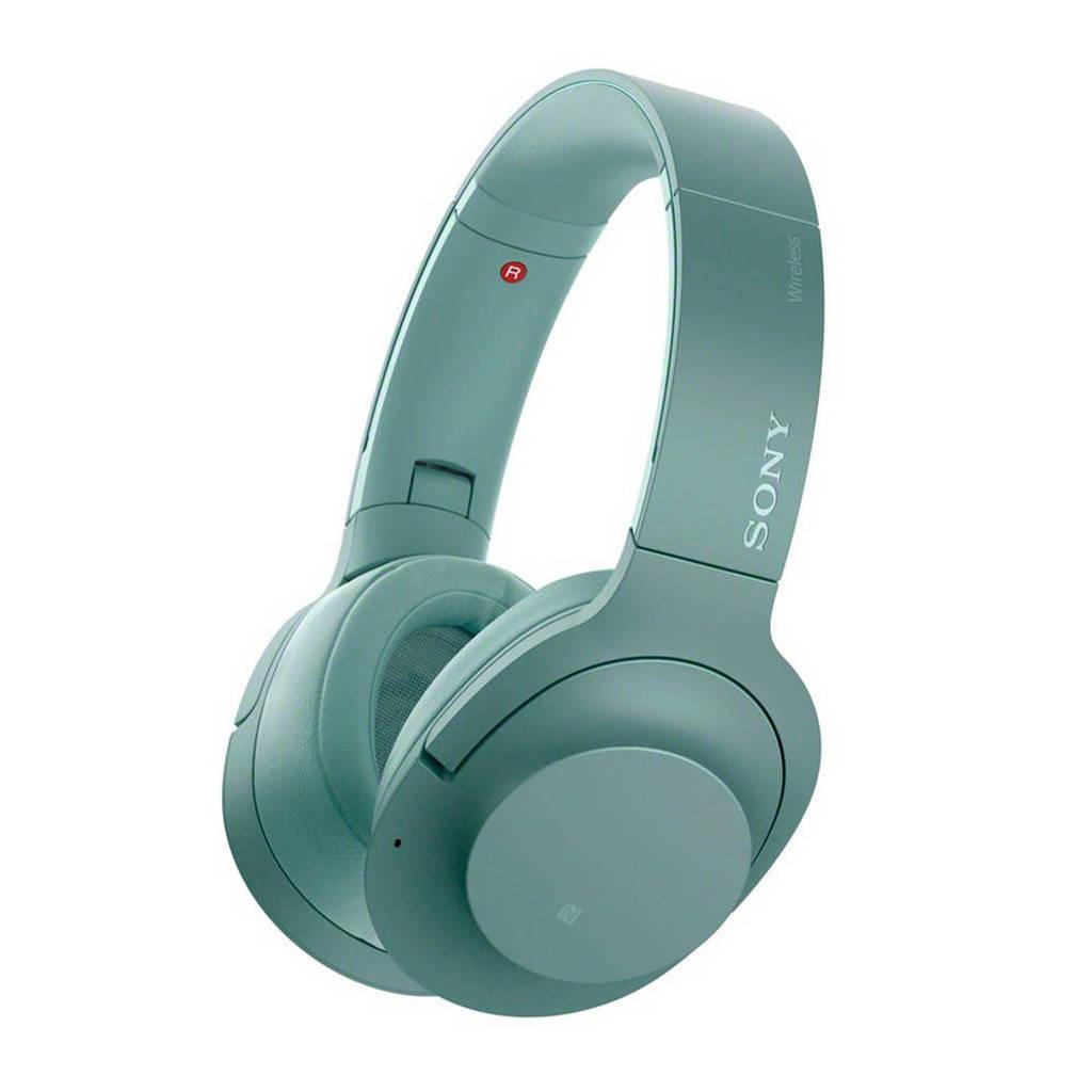 Sony Over-ear bluetooth koptelefoon met Noise Cancelling WH-H900N groen, Groen