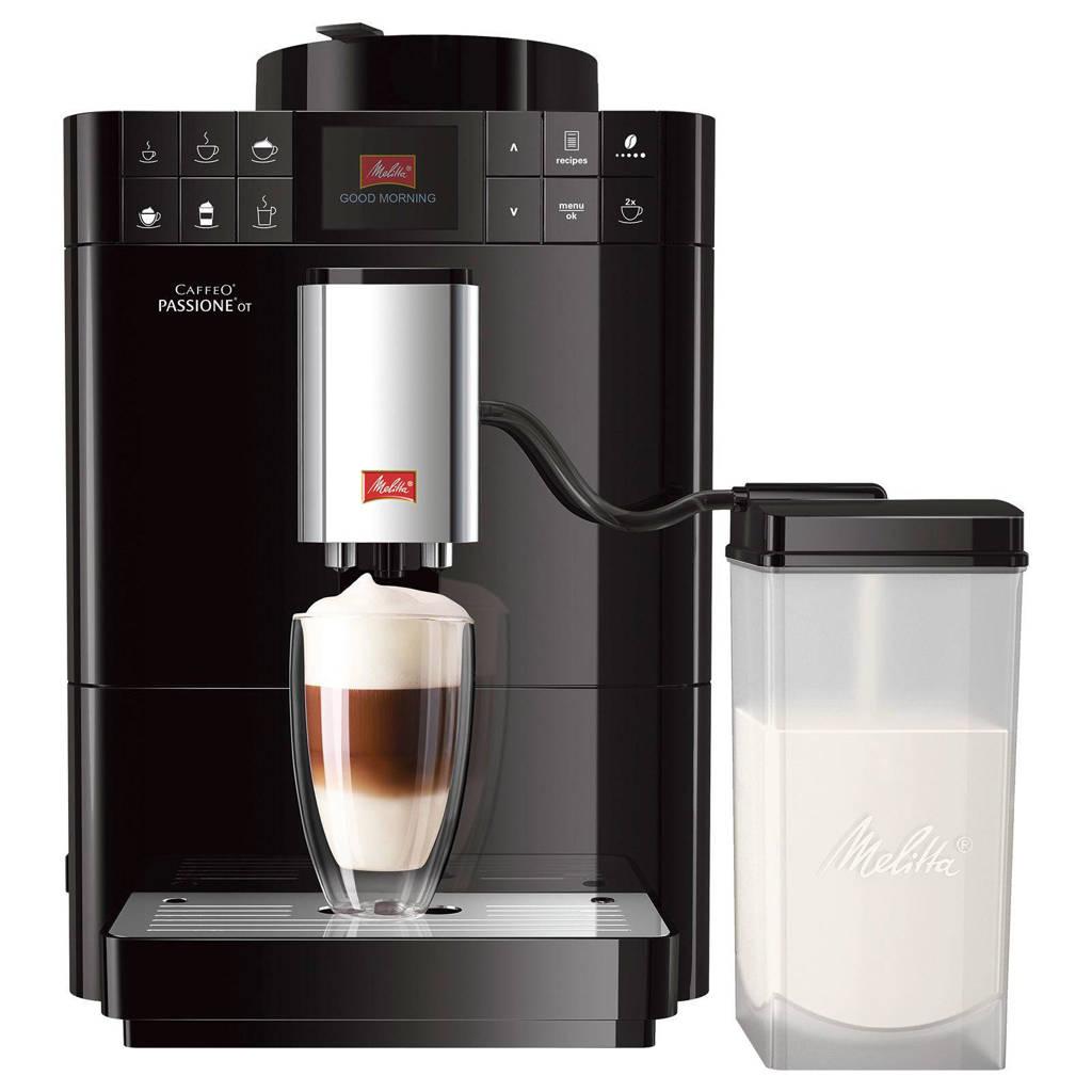Melitta Passione One Touch F531-102 koffiemachine, Zwart
