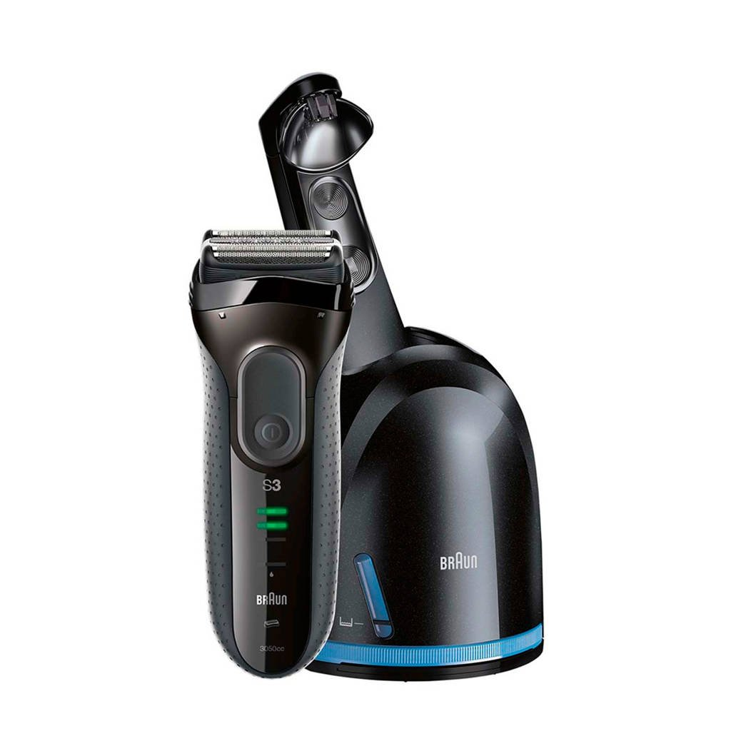 Braun Series 3 ProSkin 3050CC scheerapparaat + Clean & Charge station