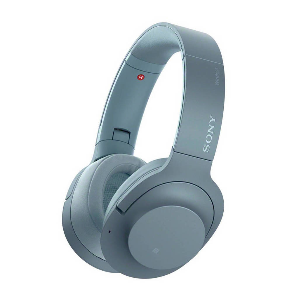 Sony Over-ear bluetooth koptelefoon met Noise Cancelling WH-H900NB blauw, Blauw