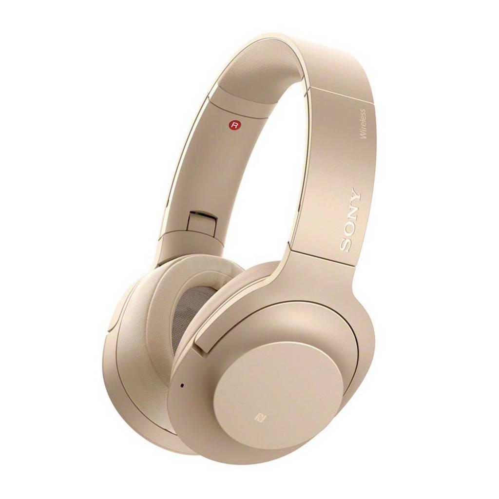 Sony Over-ear bluetooth koptelefoon met Noise Cancelling WH-H900NB goud, Goud