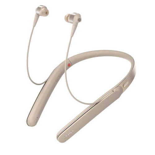 Sony WI-1000XB in-ear bluetooth koptelefoon met Noise Cancelling goud kopen