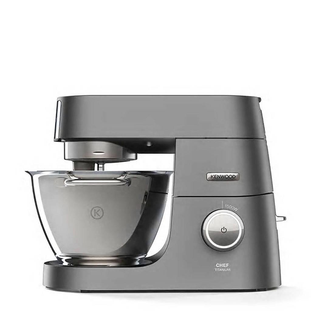 Kenwood KVC7320S Chef Titanium keukenmachine, Zilver