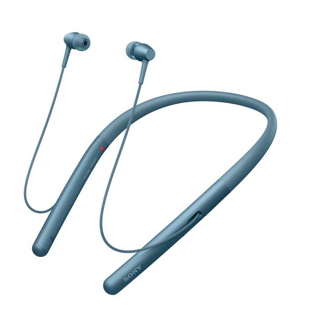Sony On-ear bluetooth sport koptelefoon WI-H700 Blauw