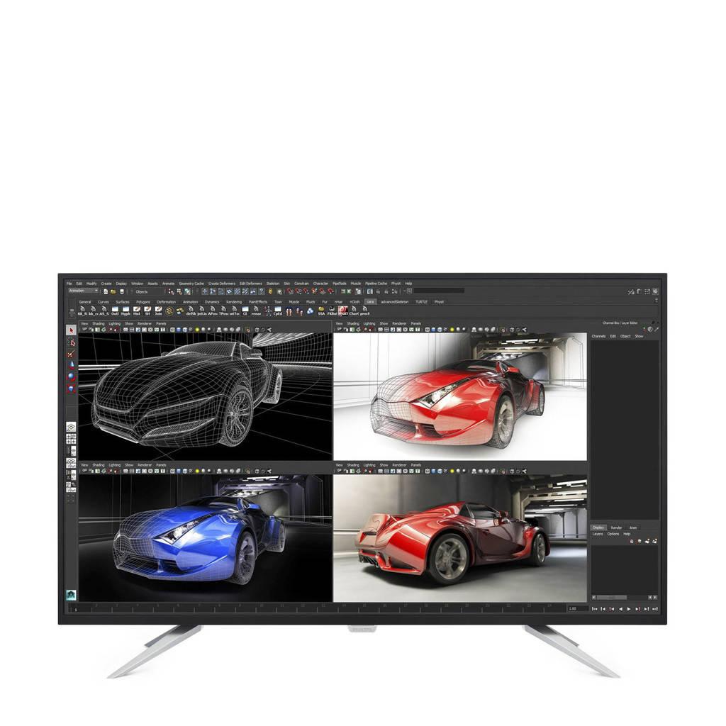 Philips BDM4350UC 43 inch monitor, Zwart