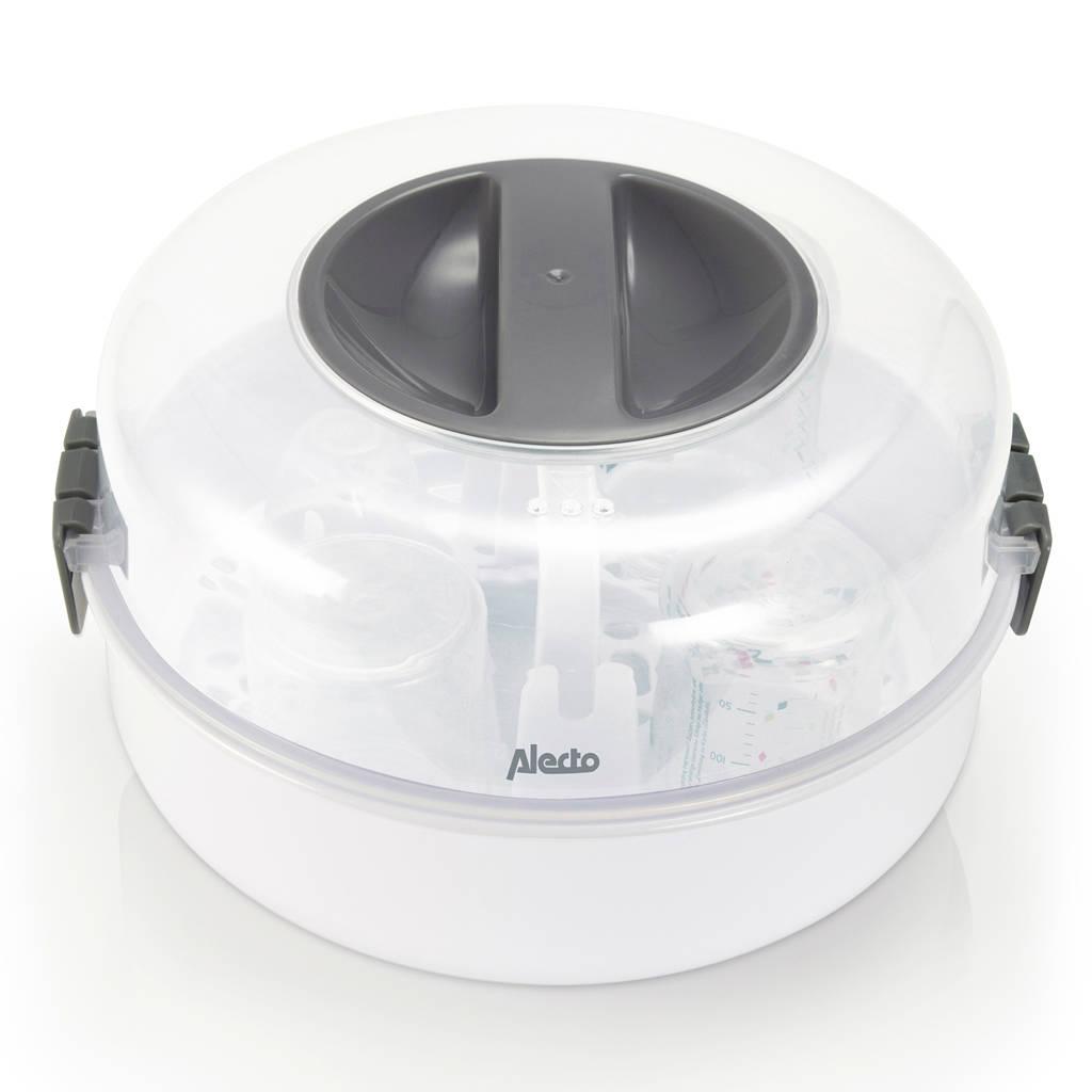 Alecto BW-04 magnetron fles sterilisator, Wit
