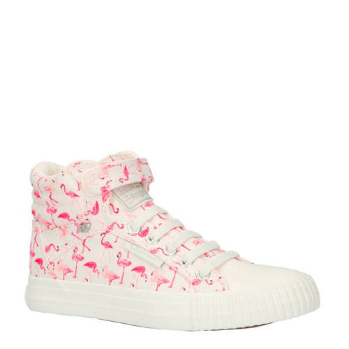 British Knights Dee sneakers roze-wit