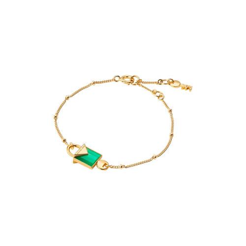 Michael Kors zilveren armband Color goudkleurig - MKC1041AJ710 kopen