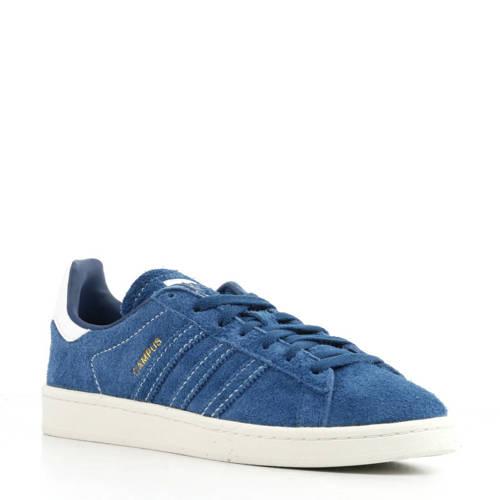Campus suède sneakers blauw