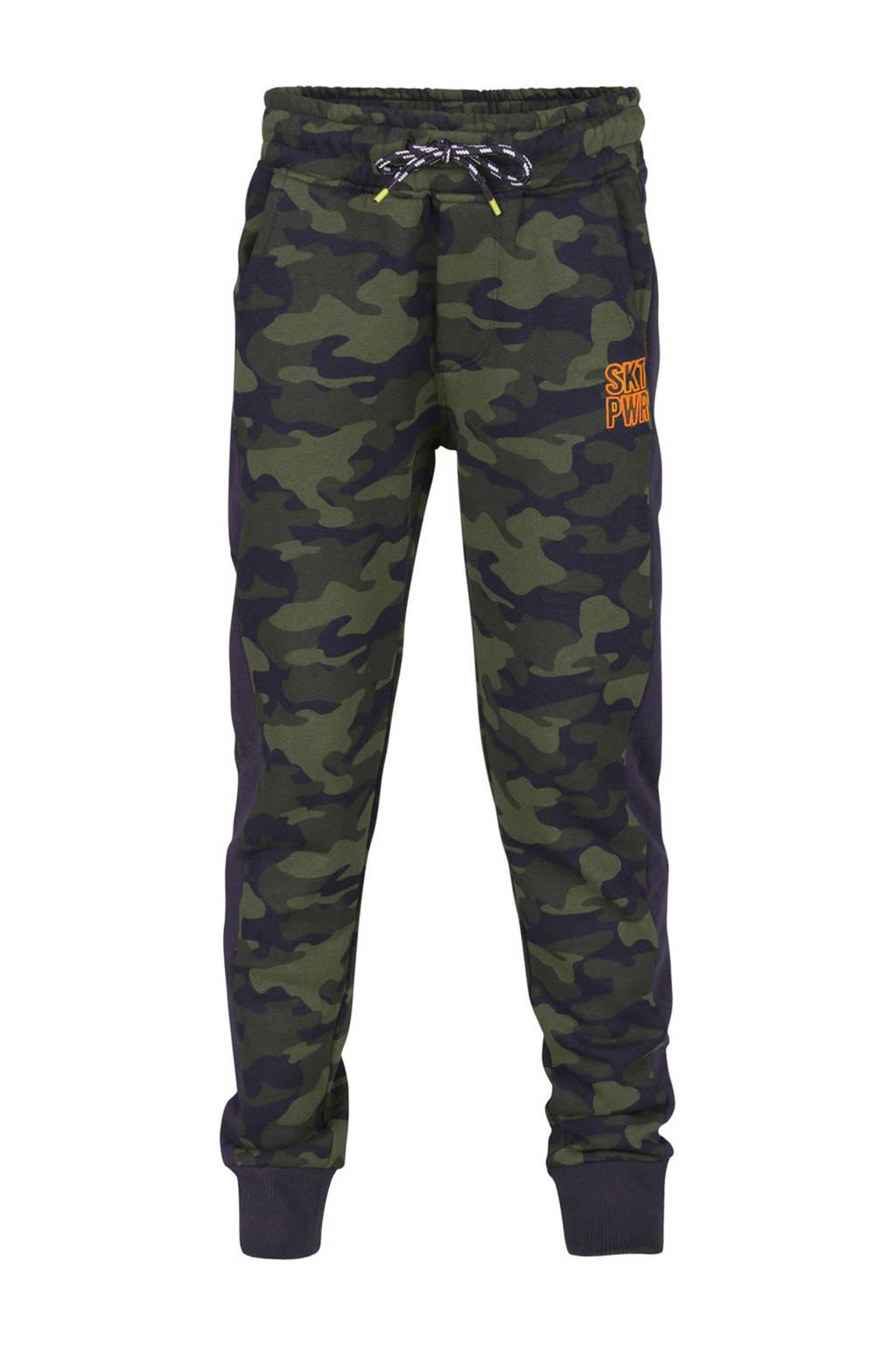 Joggingbroek 134.We Fashion Joggingbroek Met Camouflageprint Blauw Wehkamp