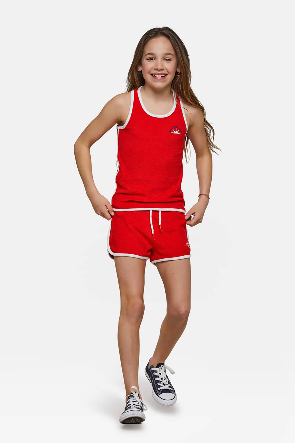 WE Fashion singlet rood, Rood