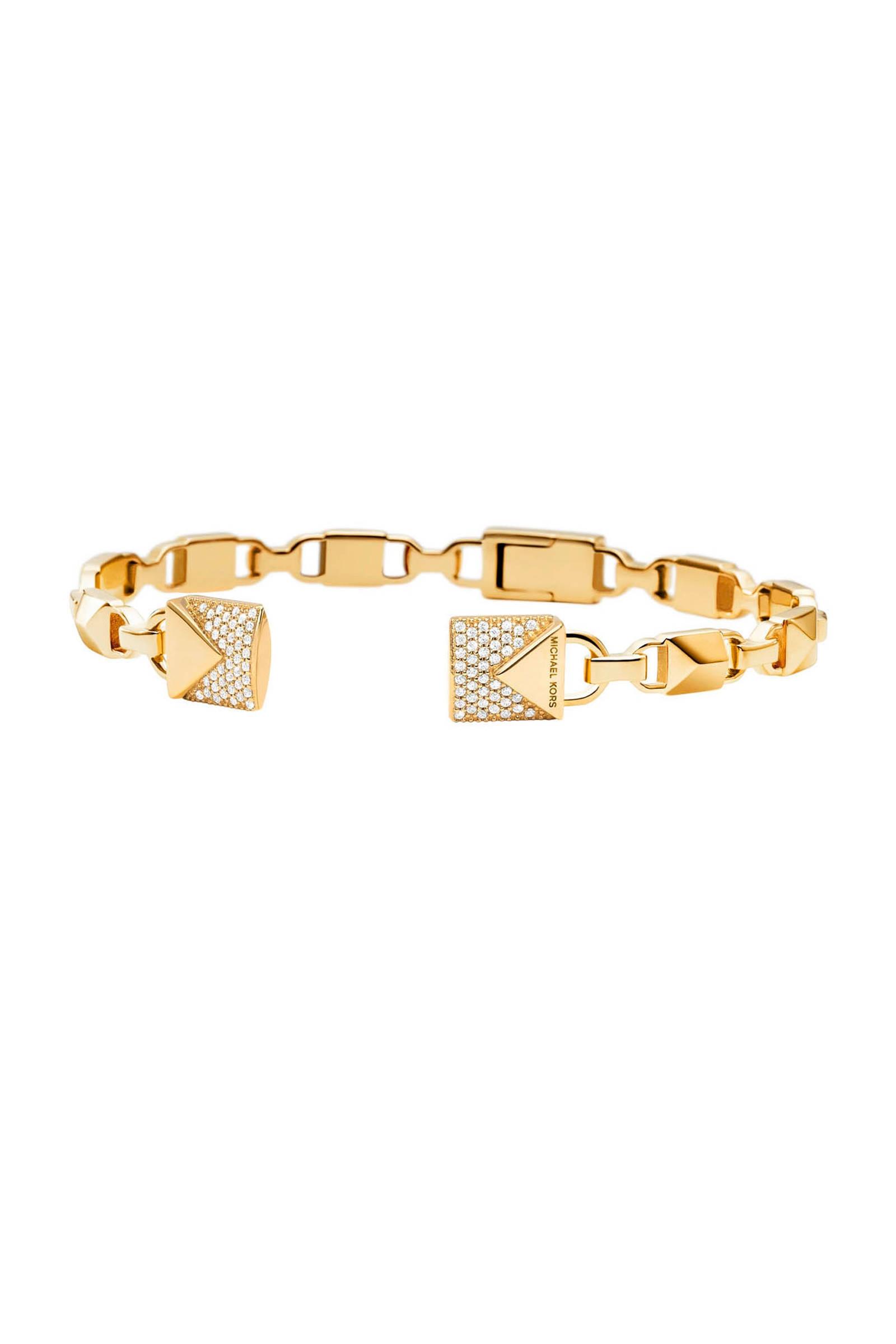 zilveren armband Mercer Link goudkleurig MKC1009AN710