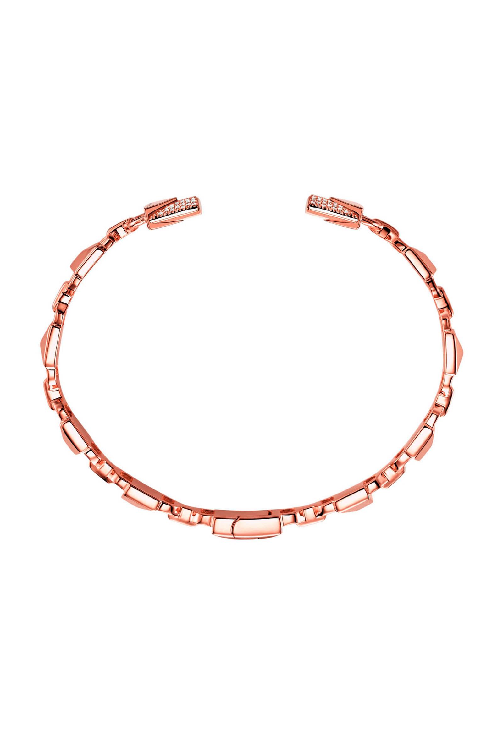 zilveren armband Mercer Link rosé MKC1009AN791