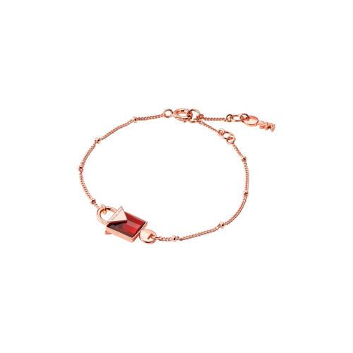 Michael Kors zilveren armband Color rosé - MKC1041AM710 kopen