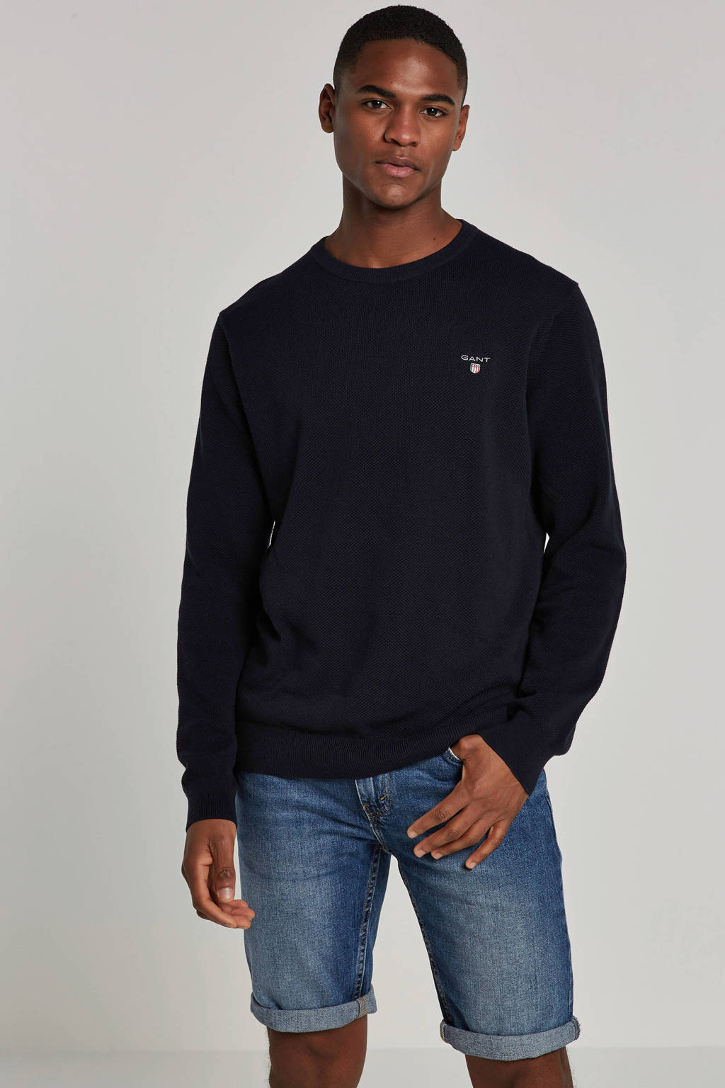 GANT trui, Donkerblauw
