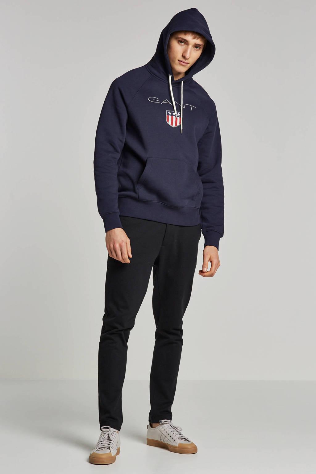 GANT hoodie, Donkerblauw