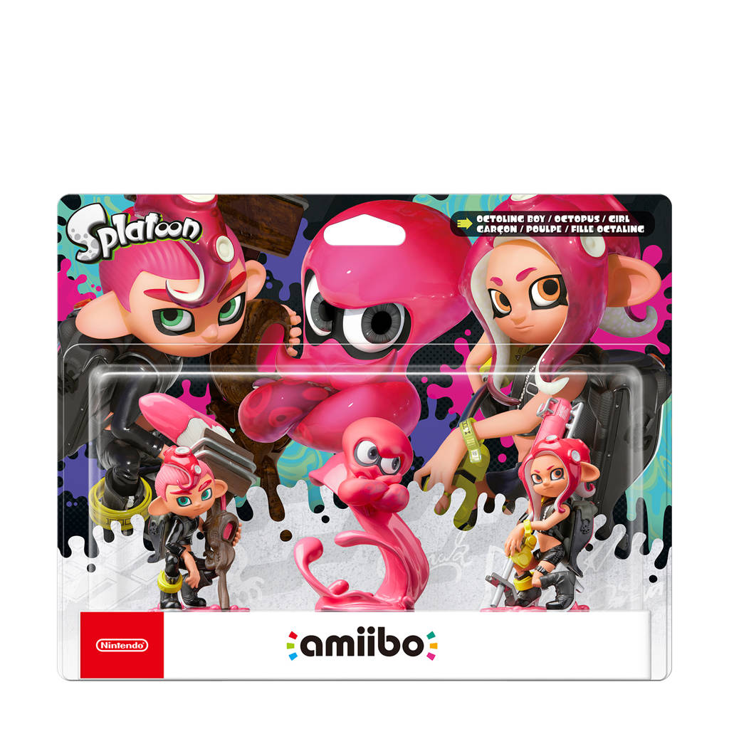 Nintendo amiibo Splatoon Octoling 3-pack